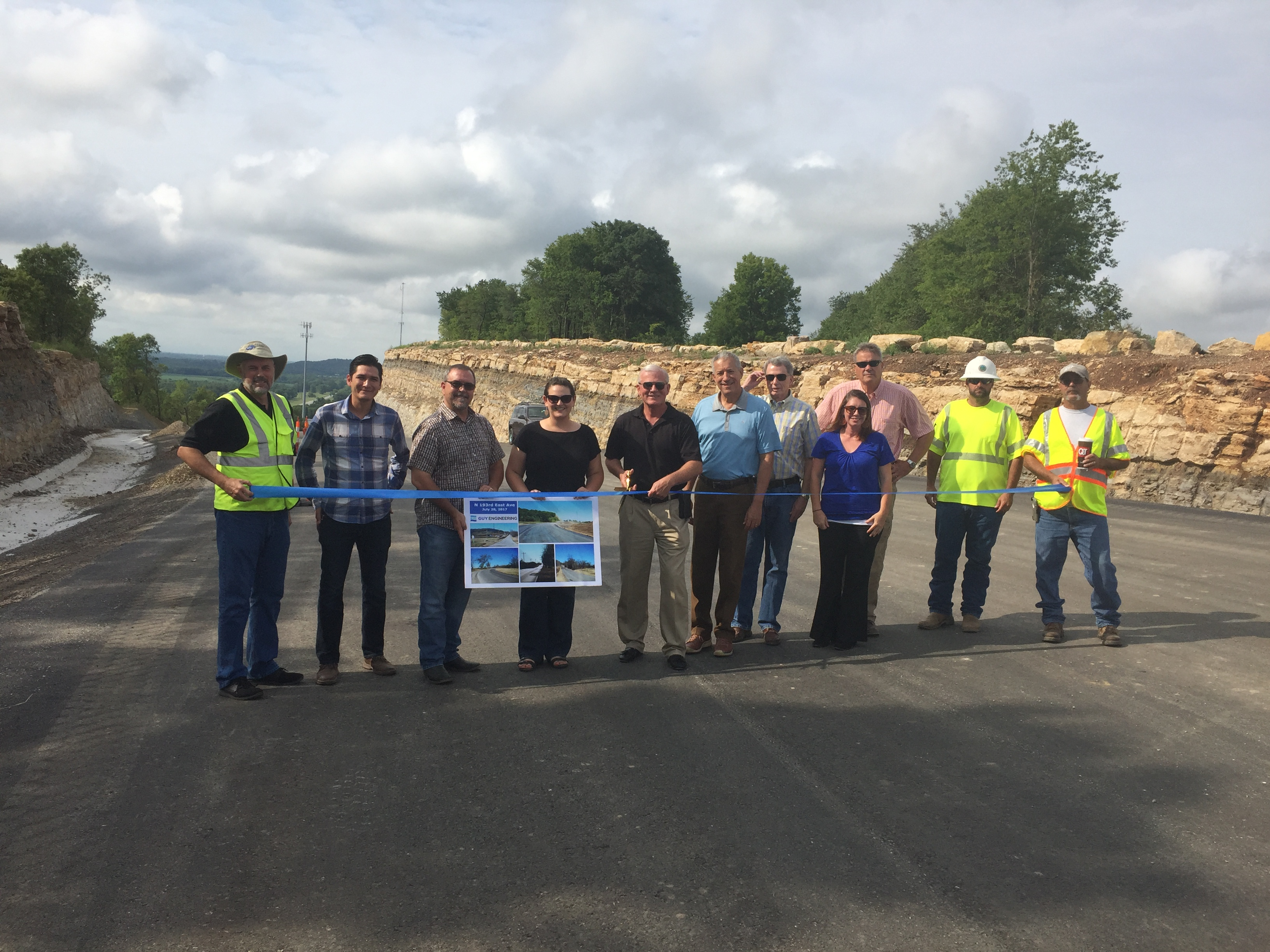 Ribbon Cutting Held for N 193rd East Ave