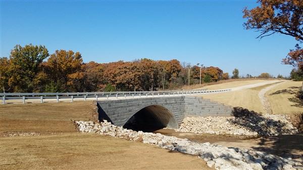Bridge #15 over Mud Creek, Pawnee County
