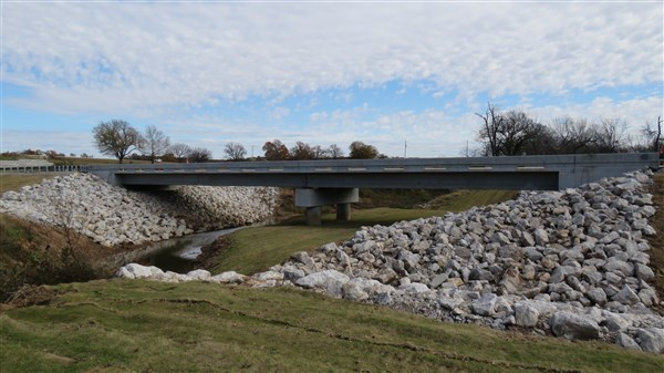 Ribbon Cutting: Bridge #181A over Little Deep Fork Creek