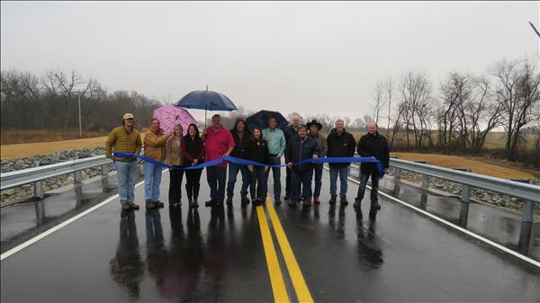 Ribbon Cutting: Bridge #18 over Fourmile Creek