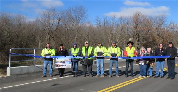 Ribbon Cutting: Bridge #280 over Tributary to Delaware Creek