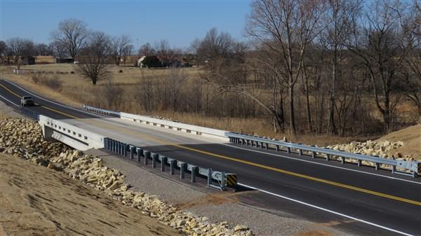 Bridge #132 over Marchesoni Creek