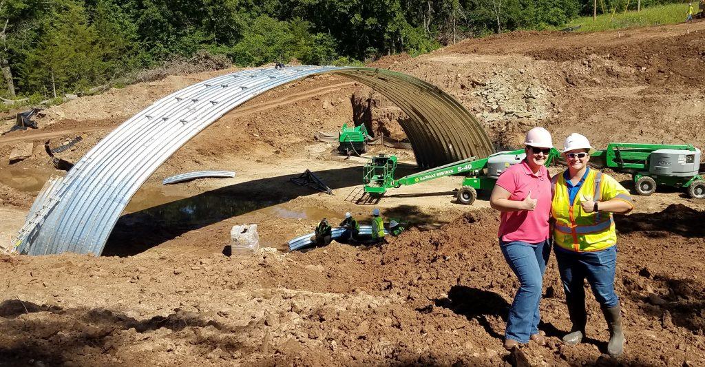 Bridge 15 over Mud Creek construction
