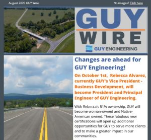 August 2020 GUY Wire