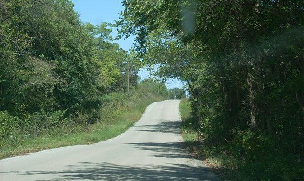 White Oak Road Before