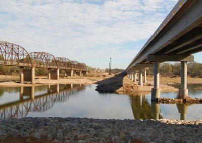 Blackburn Bridge over Arkansas River