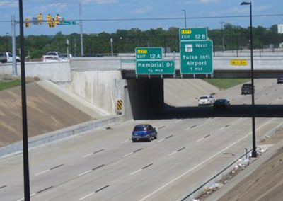 Garnett Rd and Sheridan Rd over I-244