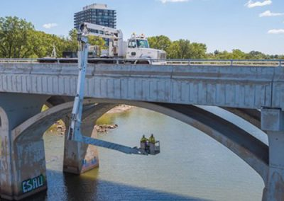 Snooper Truck Bridge Inspections