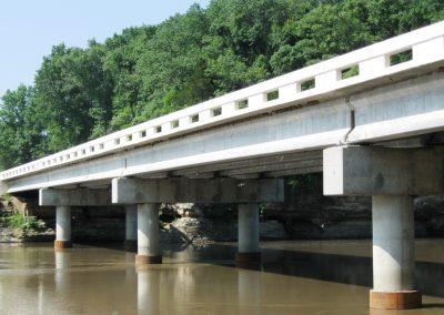 Bridge #85 over the Neosho River (Connors Bridge)