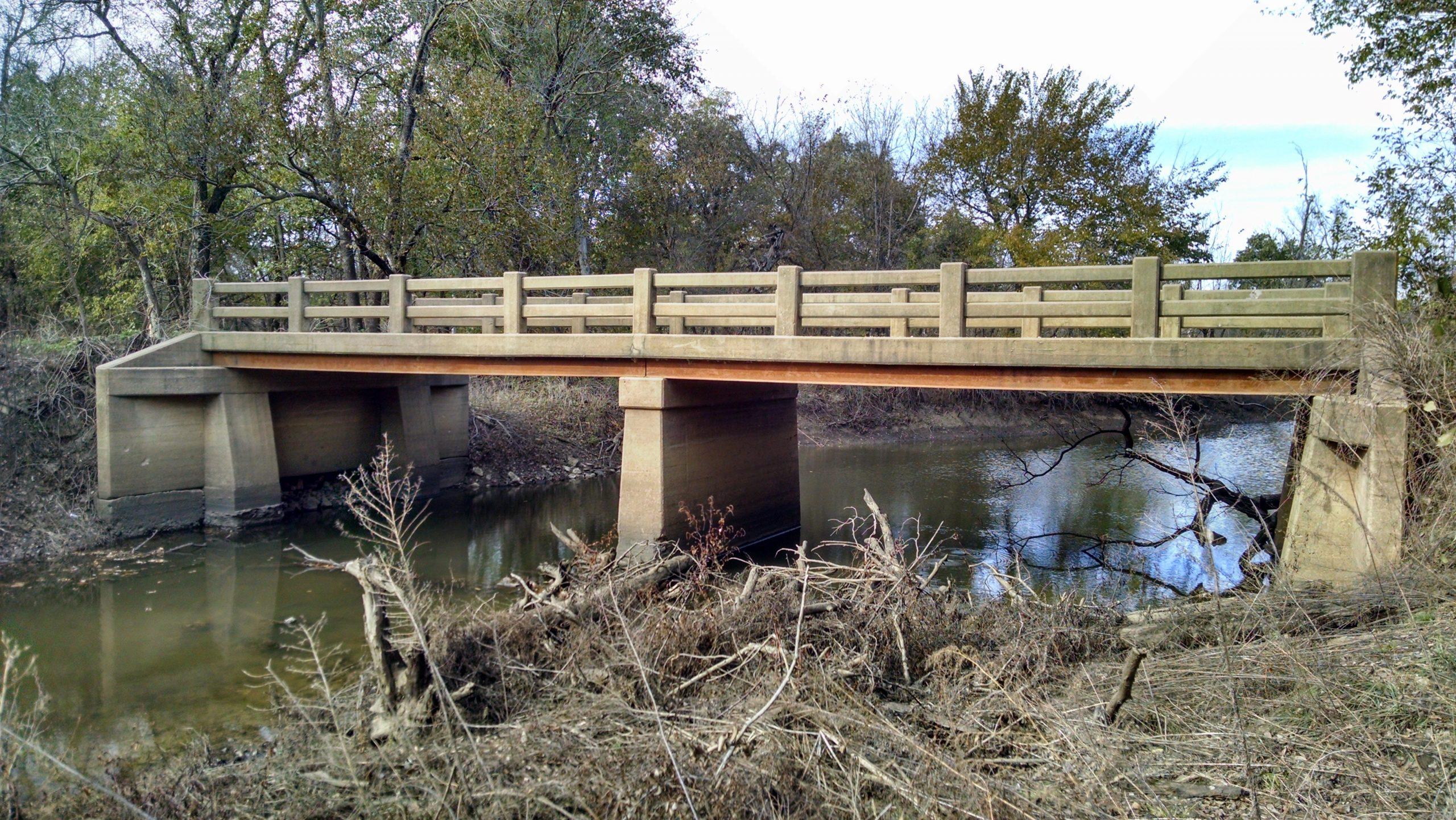 old anther Creek bridge